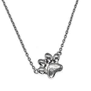 Incredibly Gorgeous Sterling Silver Paw Print
